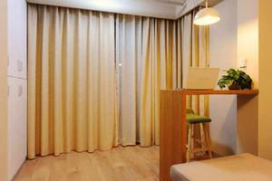 65平米日式风格一居室小户型装修效果图案例