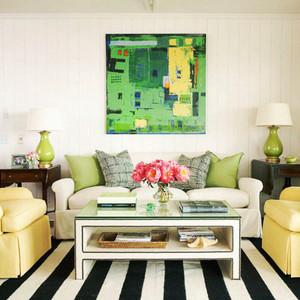 现代风格小户型客厅沙发装修效果图