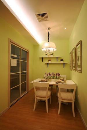 63平米田园风格一居室装修效果图案例
