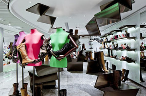 现代风格创意服装店面装修效果图赏析