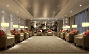120平米简欧风格会客厅装修效果图赏析