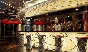 欧式风格五星级酒店餐厅设计装修效果图