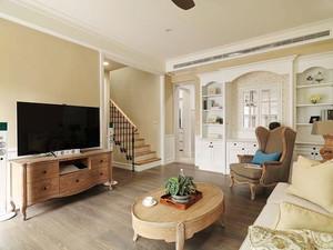 300平米简欧风格别墅室内装修效果图案例