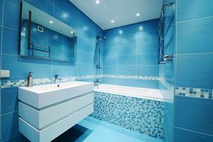 地中海风格卫生间马赛克瓷砖装修效果图赏析
