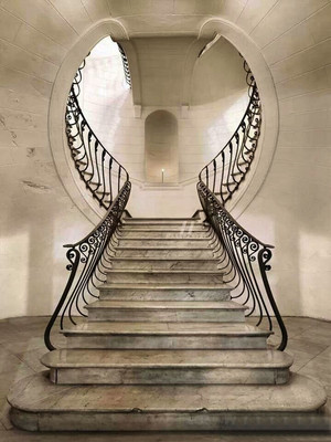 欧式风格别墅室内创意精美楼梯装修效果图赏析