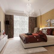 现代简约风格两居室室内卧室装修效果图赏析