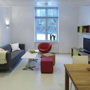 现代简约风格小户型客厅沙发装修效果图