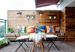 东南亚风格创意阳台设计装修效果图赏析