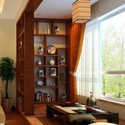 中式风格大户型室内阳台榻榻米装修效果图赏析