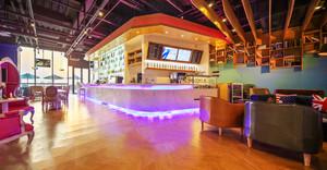 160平米现代风格文艺咖啡厅设计装修效果图