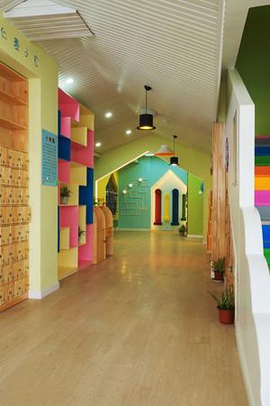 现代简约风格幼儿园环境布置装修效果图赏析