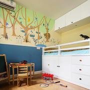 北欧风格活泼创意儿童房装修效果图