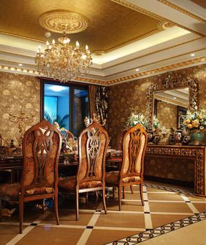 古典欧式风格宫廷奢华别墅室内装修效果图赏析