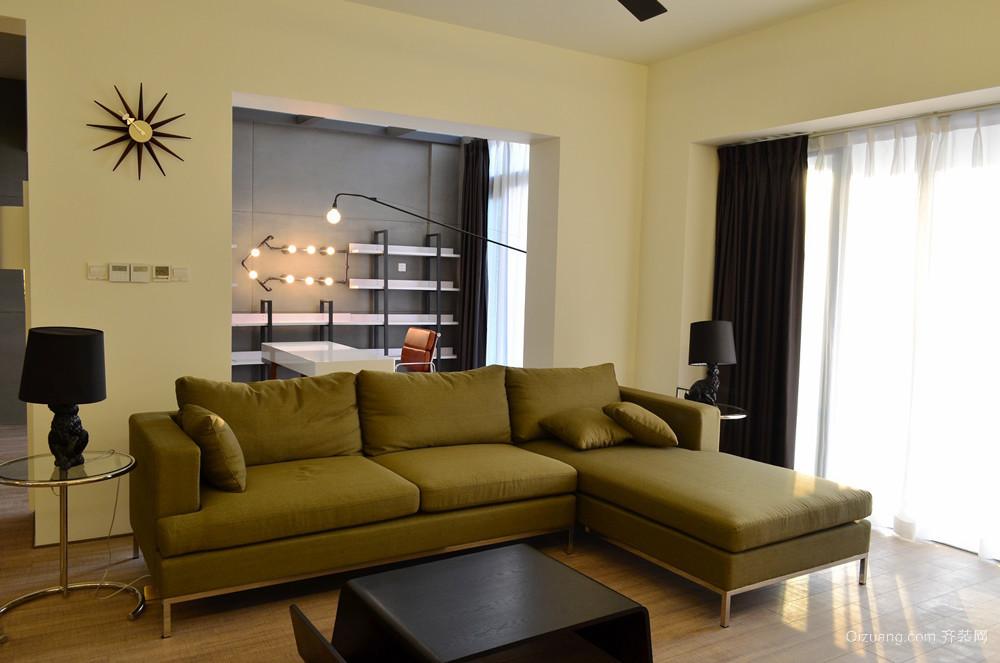 60平米后现代风格室内小户型装修效果图