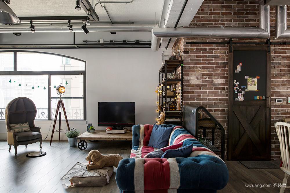 150平米后现代风格loft装修效果图赏析