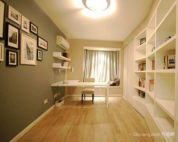 北欧风格小户型室内厨房设计装修效果图-齐装网装修效果图