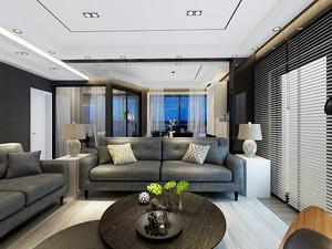 现代风格精致两室两厅两卫装修效果图赏析
