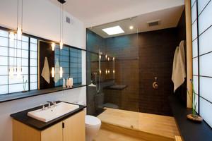 中式风格古典雅致卫生间装修效果图