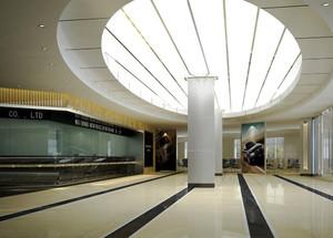 260平米现代风格精致酒店大堂设计装修效果图