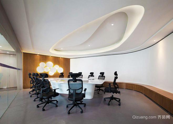 现代风格创意会议室吊顶装修效果图赏析