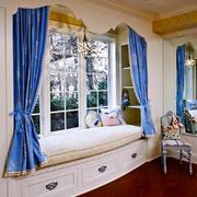 地中海风格唯美精致飘窗设计装修效果图
