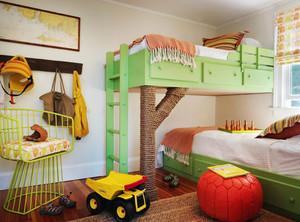 现代简约风格温馨儿童房设计装修效果图