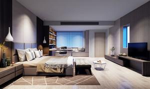 后现代风格主卧室装修效果图赏析