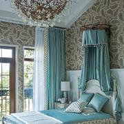 简欧风格温馨浅色卧室装修效果图