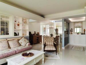 146平米现代美式风格温馨舒适大户型室内装修效果图