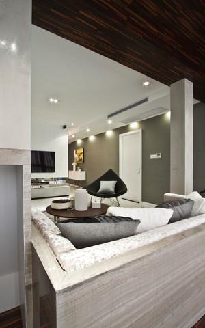 92平米现代风格精致两室两厅室内装修效果图赏析