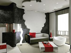 56平米现代简约风格精致单身公寓装修效果图赏析