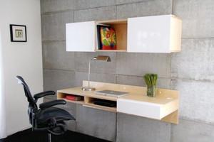 宜家风格简约清新小书房装修效果图大全