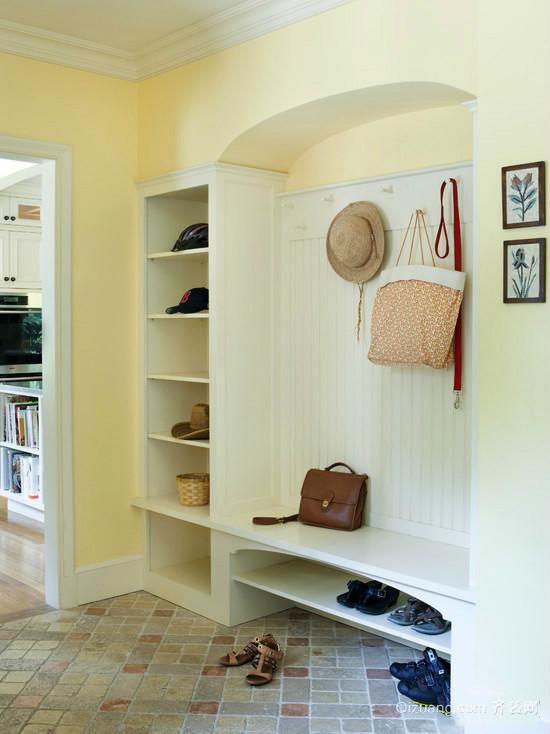 北欧风格简约实用玄关鞋柜装修效果图大全