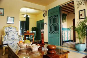 异域风情东南亚风格一居室装修效果图案例