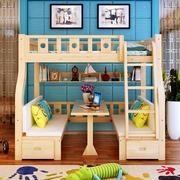 现代风格小户型双层儿童床设计装修效果图