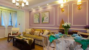 98平米欧式风格轻奢婚房装修效果图赏析