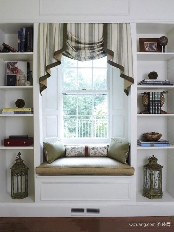 欧式风格精美飘窗设计装修效果图大全