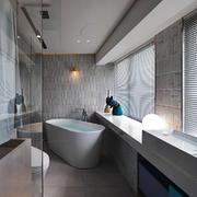 现代风格大户型卫生间卫浴装修效果图