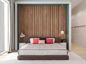 宜家风格小户型卧室背景墙装修效果图