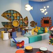 20平米现代风格创意儿童房设计装修效果图