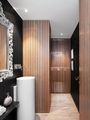 现代风格精致卫生间装修效果图赏析