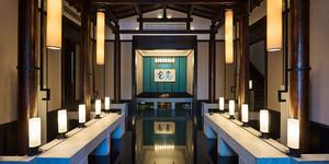 87平米日式风格餐厅设计装修效果图