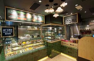 50平米简欧风格面包店设计装修效果图