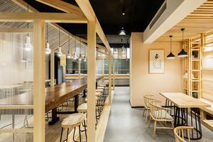 88平米乡村风格餐厅设计装修效果图赏析
