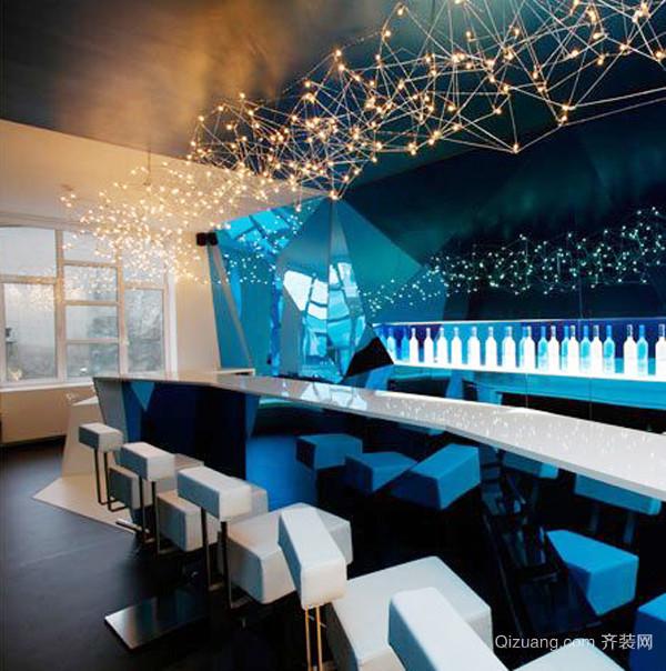 300平米欧式风格酒店大堂设计装修效果图