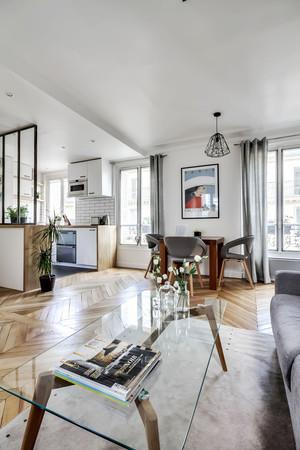 56平米北欧风格小户型室内装修效果图案例