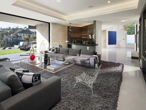 400平米现代风格轻奢别墅室内装修效果图赏析