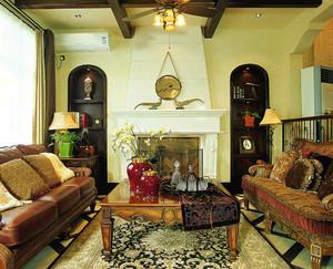 180平米东南亚风格别墅室内装修效果图案例