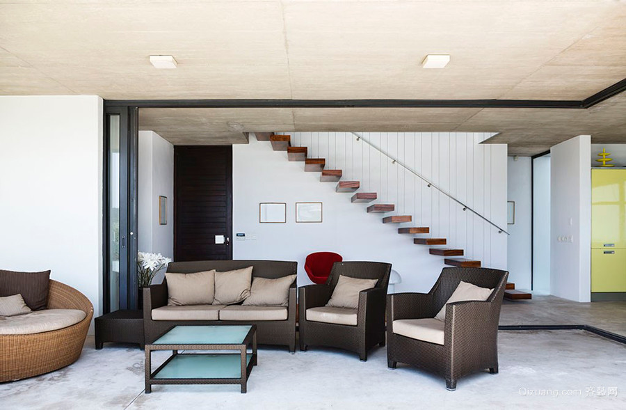 现代简约风格客厅电视背景墙装修效果图赏析