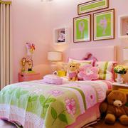 14平米欧式田园风格可爱活泼儿童房装修效果图